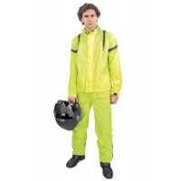 OJ Compact Fluo divisible rain suit