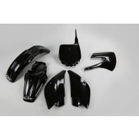Ufo replacement plastics for Kawasaki KX 85cc 2000 Black