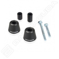 Barracuda TS9101 Frame Sliding Bracket Kit Black for Triumph