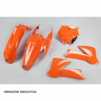 Ufo motorcycle plastic kits for KTM Orange