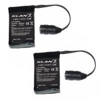 Klan kit battery 7,4 volt e 2,2 ah for gloves and socks