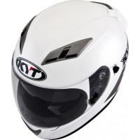 Face helmet KYT Falcon Plain white pearl
