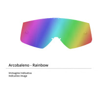 Rainbow lens for Befast Muddy goggles
