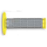 UfoESCAPE enduro-cross grips Grey-Yellow RM 01-12