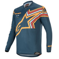 Alpinestars RACER BRAAP cross jersey Navy Orange