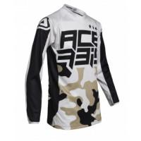 Acerbis MX DESERT STORM KID cross jersey Camo Brown