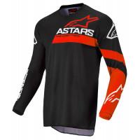 Alpinestars RACER CHASER kid cross jersey Black Bright Red