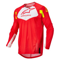 Alpinestars Youth Racer Factory jersey Red Fluo White Yellow Fluo