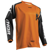 Thor Jersey Child cross S8 SECTOR ZONES Orange