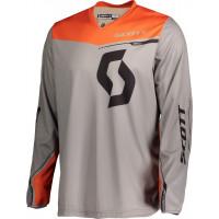 SCOTT 350 Dirt cross jersey grey orange