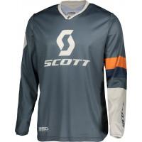 SCOTT 350 Track cross jersey blue orange