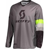 SCOTT 350 Track cross jersey grey yellow