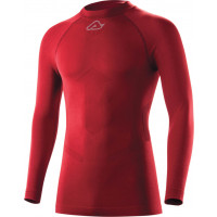 Acerbis Evo Underwear shirt long sleeve Bordeaux