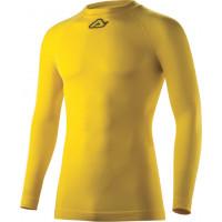 Acerbis Evo Underwear shirt long sleeve Yellow