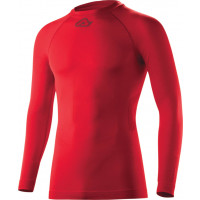 Acerbis Evo Underwear shirt long sleeve Red