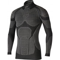 Alpinestars Ride Tech top long sleeve winter black gray
