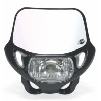 Headlight holder mask Acerbis 0002694 DHH CERTIFIED Black