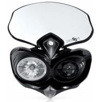 Headlight holder mask Acerbis 0003002 CYCLOPE Black