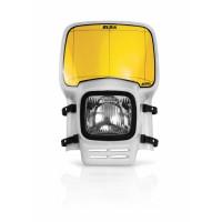 Headlight holder mask Acerbis 0003020 ELBA White