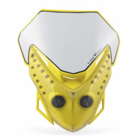 Headlight holder mask Acerbis 0012484 LED VISION Yellow