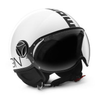 Momo Design jet helmet Fighter Classic glossy white black