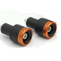 Coppia contrappesi universali Barracuda B-Lux alluminio Arancione