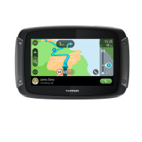 TomTom Rider 550 Special Edition Premium Pack motorcycle navigator with extra accessories