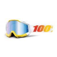 100% accuri astra mx goggle mirror blue lens