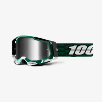 100% RACECRAFT 2 MILORI cross goggles Silver mirror lens