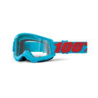 100% Strata 2 summit cross goggle clear lens