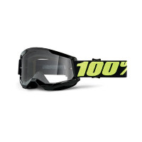 100% Strata 2 upsol cross goggle clear lens