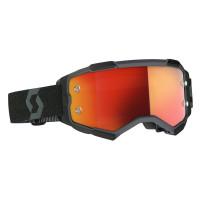 Scott Fury cross goggle black orange chrome works