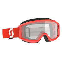 Scott Primal cross goggle clear red clear works
