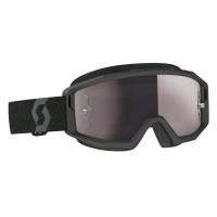 Scott Primal cross goggle black silver chrome works