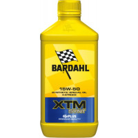 Bardahl XTM Synt 15W-50 lubricating oil 1 liter for 4 stroke engine