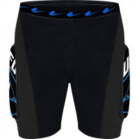 UFO Atrax Protective Shorts Black Blue