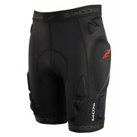 Zandonà SOFT ACTIVE SHORTS sacral tutor Black