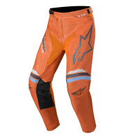 Alpinestars RACER BRAAP cross pants Dark Gray Orange Fluo