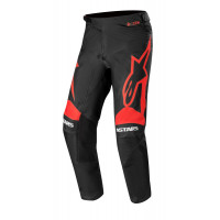 Alpinestars RACER SUPERMATIC cross pants Black Bright Red