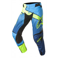 Alpinestars Techstar Venom off road pants dark Blue Cyan Yellow fluo
