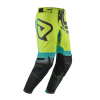 Acerbis Omega X-Flex Kid Gear cross child trousers Black Fluo Yellow