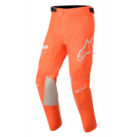 Alpinestars YOUTH RACER TECH kid cross pants Orange Fluo White Blue
