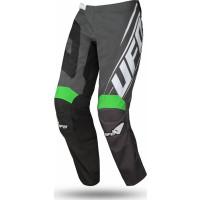 Ufo Plast VANADIUM cross pants Black Green Fluo