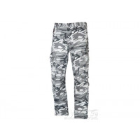 Motto trousers Urban Ram with kevlar camouflage white black