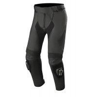Alpinestars MISSILE v2 short leather trousers Black