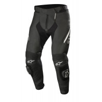 Alpinestars MISSILE v2 leather trousers Black White