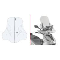 Givi windshield 6114DT for KYMCO Agility 300 R16 (19-20)