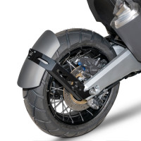 Barracuda SIDE rear fender for Honda Silver
