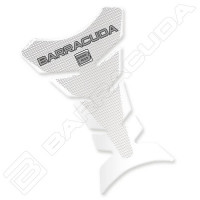 Barracuda Gas Tank Cover transparent carbon