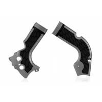 Frame protector Acerbis 0017573 X-GRIP HONDA Gray